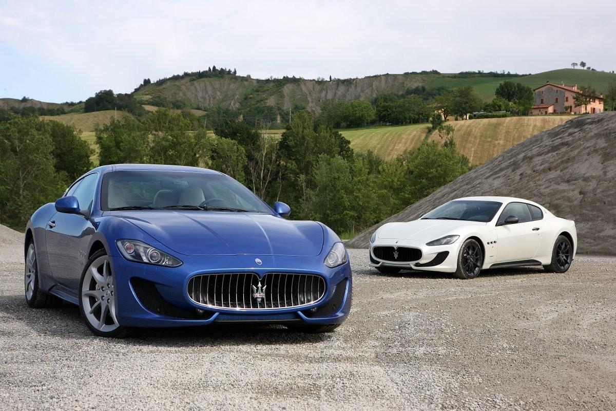 Hình ảnh ô tô đẹp nhất thế giới Maserati GranTurismo