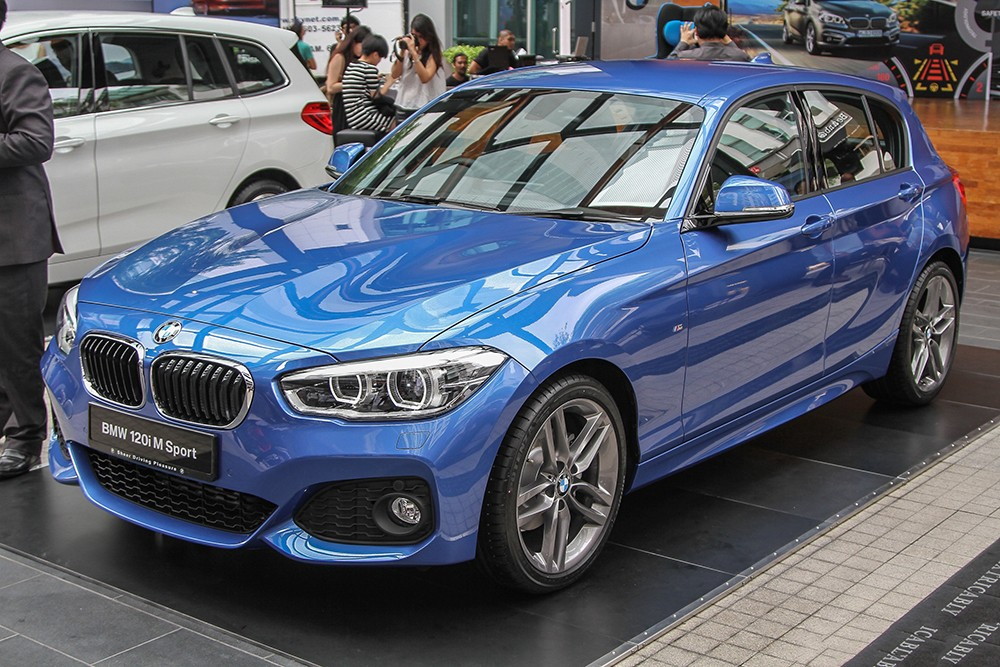 BMW 1-Series facelift 2016