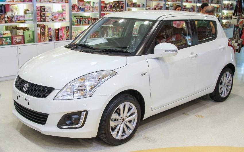 Suzuki Swift facelift