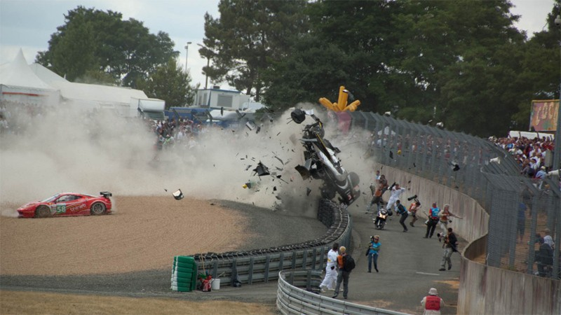 the 24 hours of le mans 3927