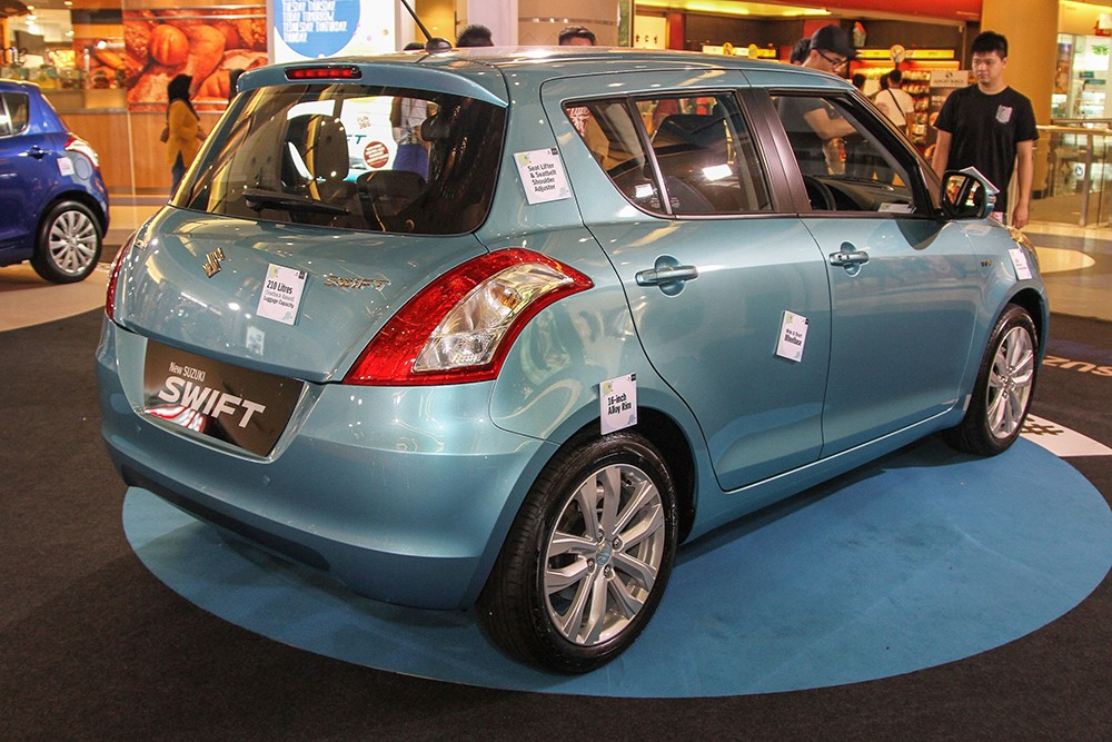 Suzuki Swift facelift 2015
