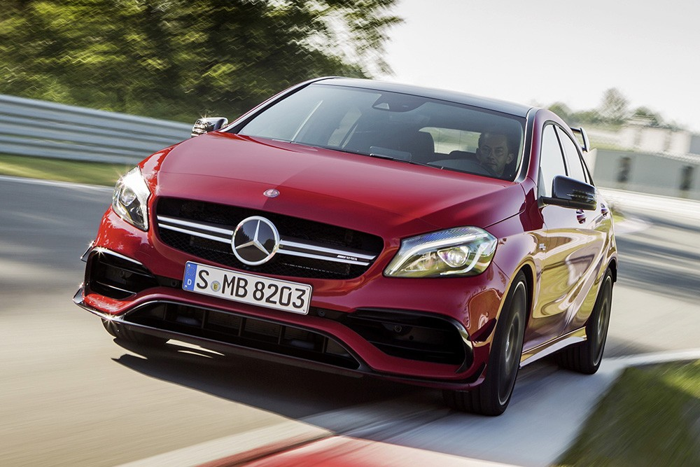 Mercedes-Benz A 45 facelift