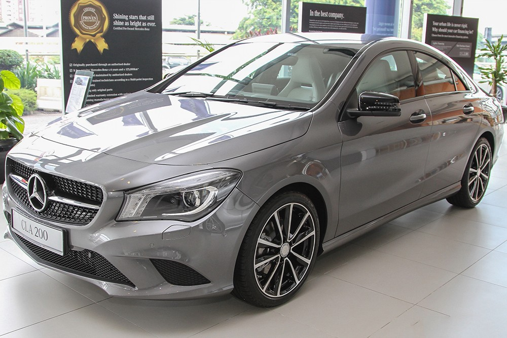 Mercedes-Benz CLA 200 2015