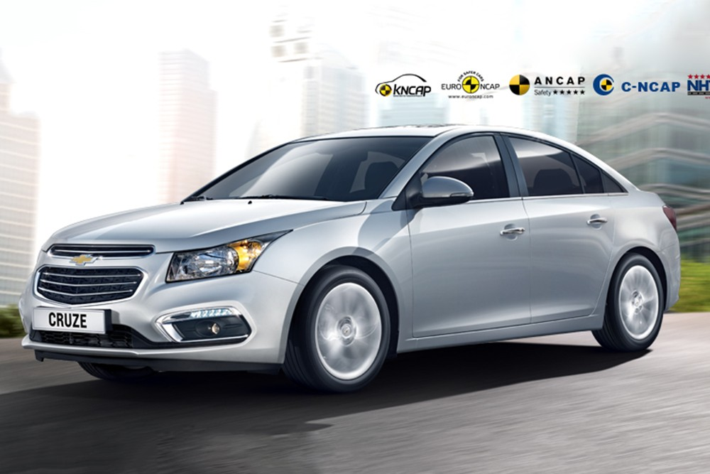 Chevrolet Cruze facelift