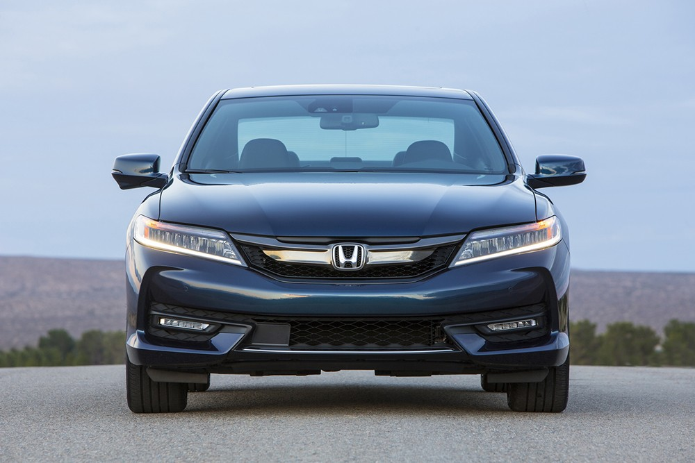 Honda Accord Coupe facelift 2016
