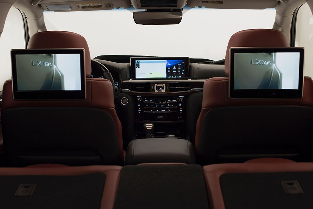 Lexus LX570 facelift 2016