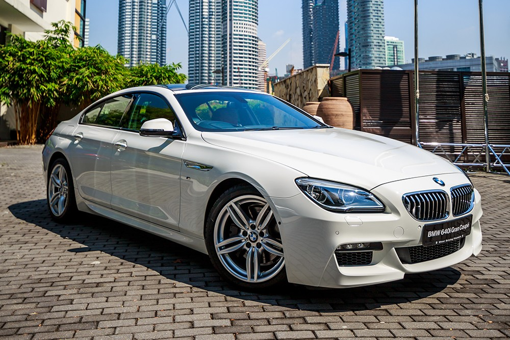 BMW 640i Gran Coupe facelift