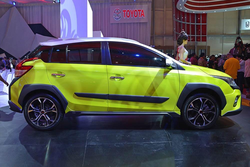 Toyota Yaris Heykers concept