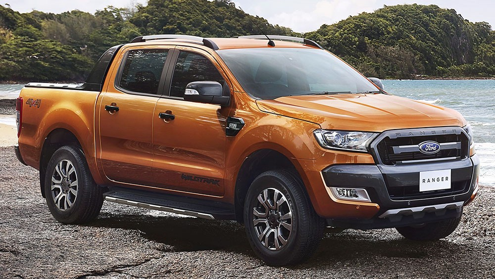 Ford Ranger facelift 2015