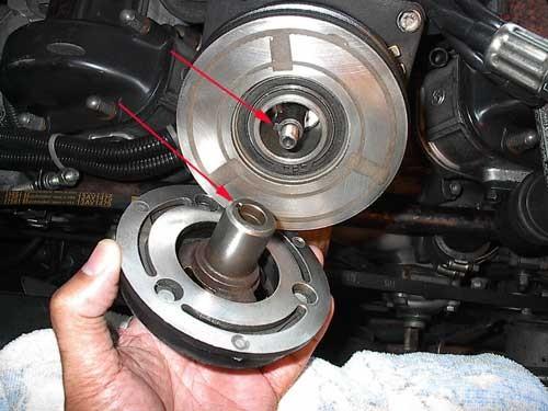 Remove Inner Clutch Hub Ktm