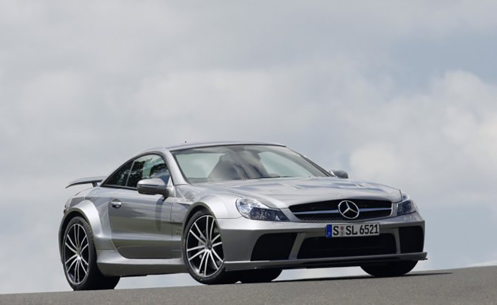 Mercedes-Benz SL 65 AMG Black Series 2008-2011
