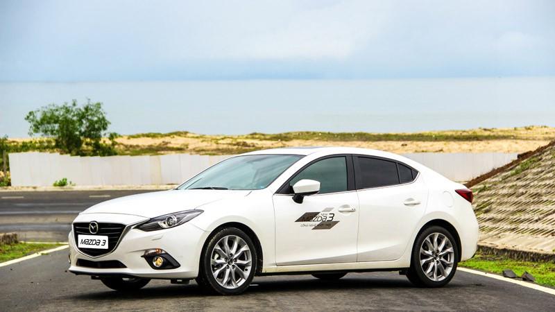 Giá xe Mazda 3 và Mazda 6 tháng 3/2016