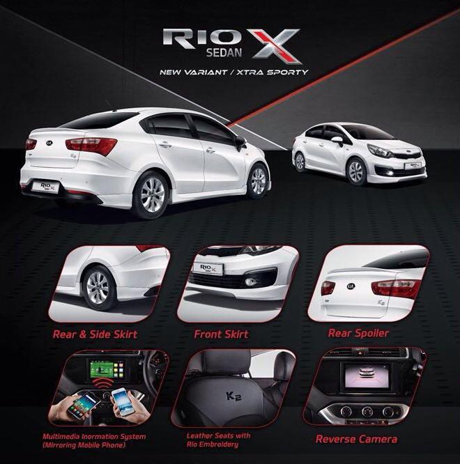 Kia Rio Sedan X