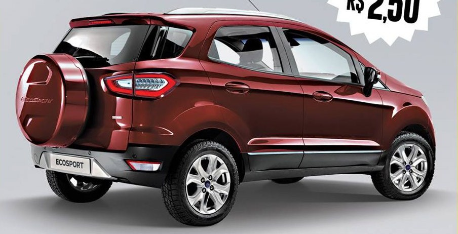 xe Ford EcoSport facelift 2017 1