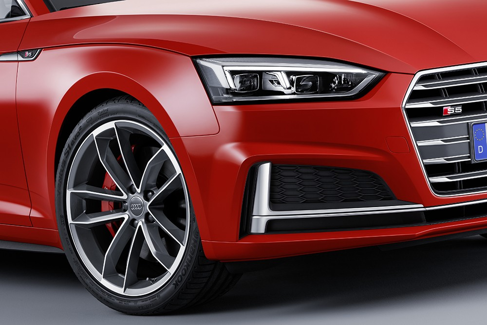 Audi S5 2017 coupe