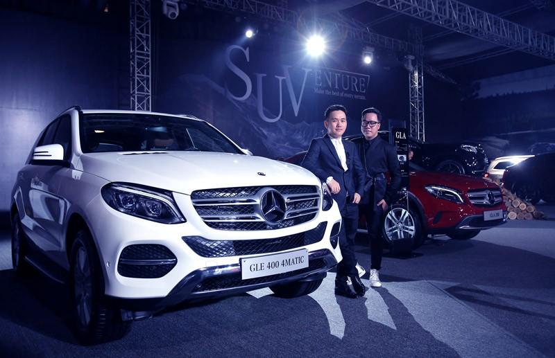 """Sau triễn lãm """"SUVenture"""" Mercedes ký được gần 350 đơn hàng 4"""