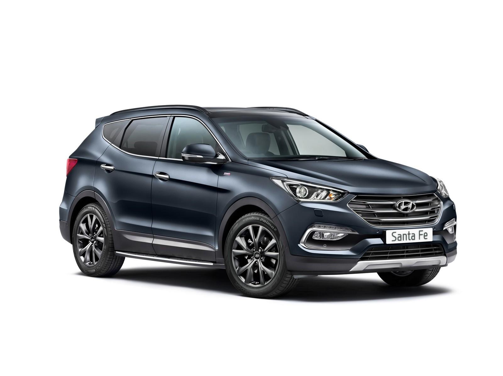 Hyundai SantaFe bản đặc biệt tại Anh có gì mới?