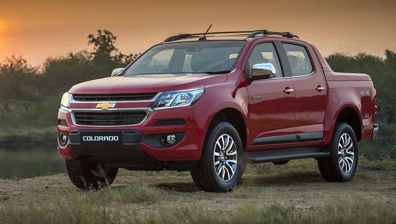 Giá xe Chevrolet Colorado 2017 chính thức chốt giá tại Thailand