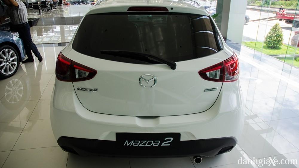 Đánh giá xe Mazda 2 2016, thiết kế nội ngoại thất & giá xe Mazda2 mới nhất 4
