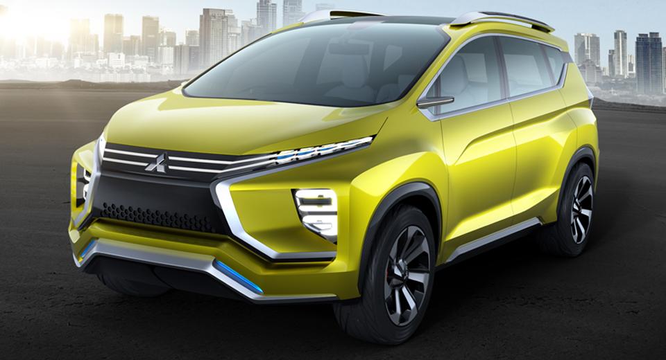Mitsubishi XM Concept mẫu xe mới sắp đến thị trường Việt?