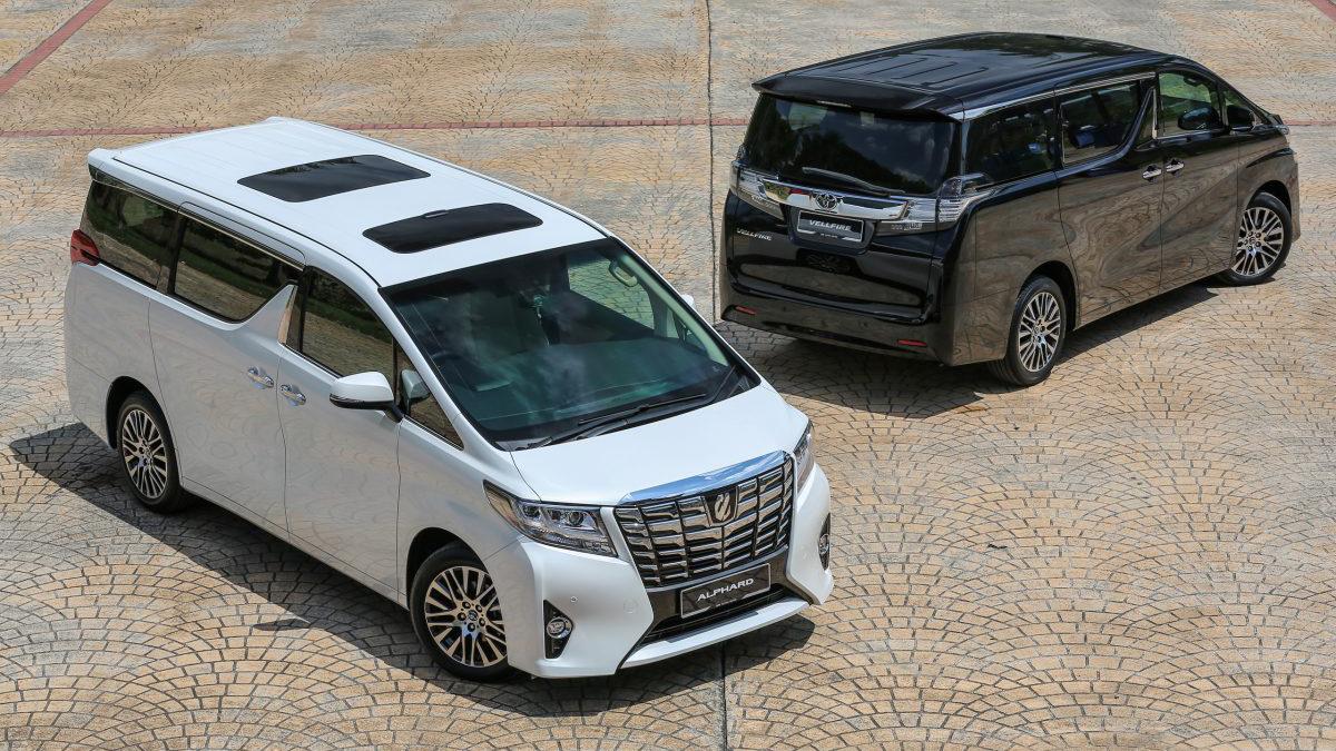 Toyota Alphard và Toyota Vellfire được trình làng tại Malaysia