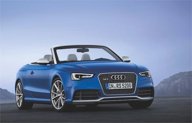 Audi RS 5 Quattro 2013 mui trần sẽ ra mắt thị trường Mỹ