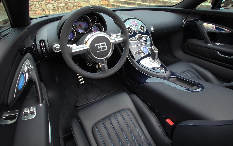 Nội thất siêu xe - Bugatti Veyron