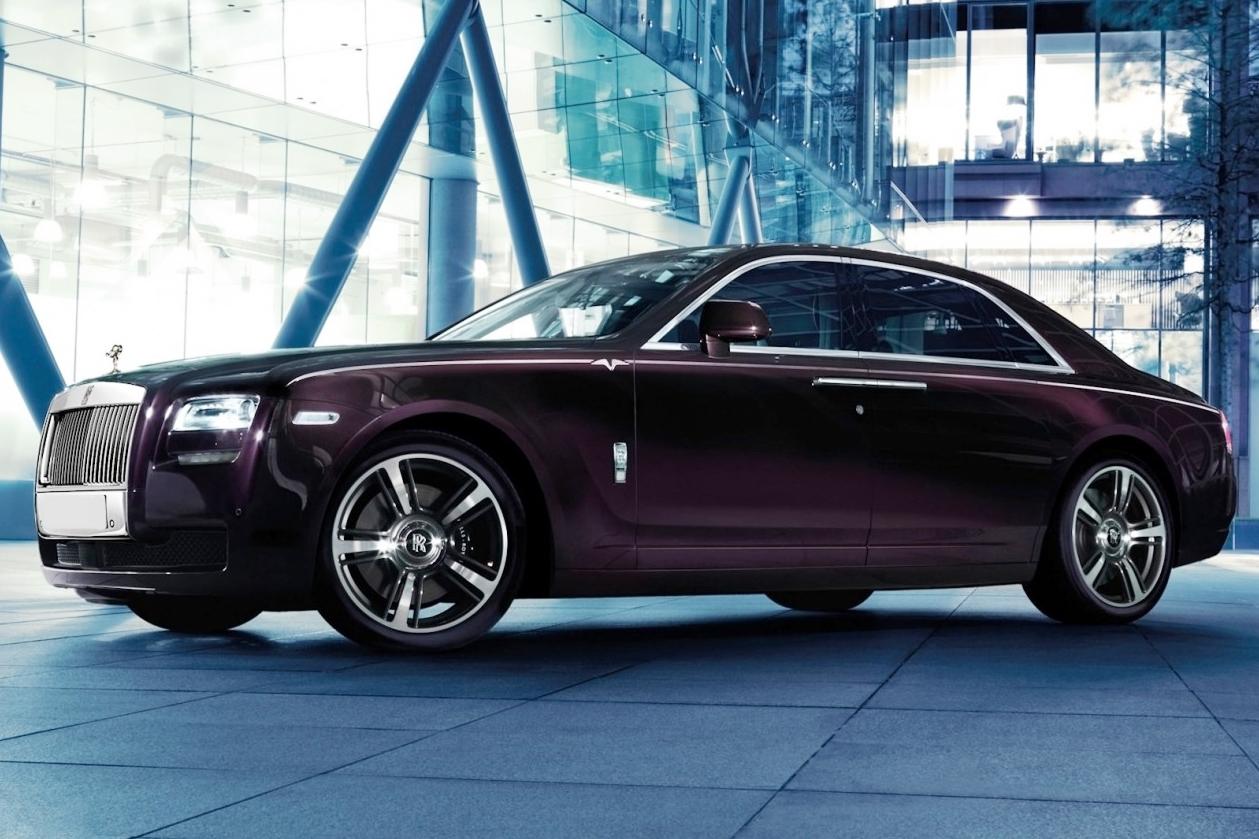 xe sports sedan Rolls-Royce Ghost V-Specification