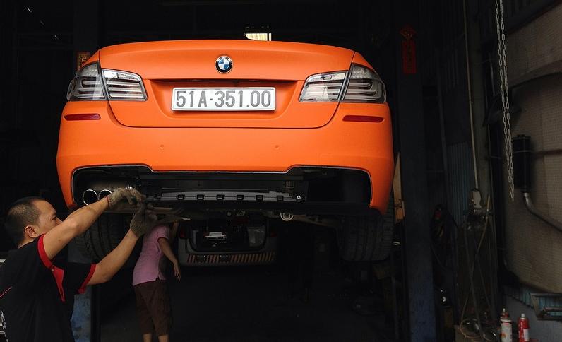 Độ xe ô tô - độ pô xe