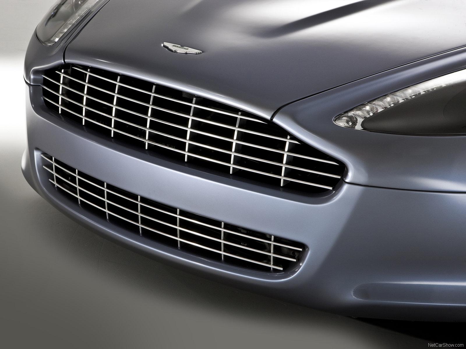 Lưới tản nhiệt ô tô Aston Martin