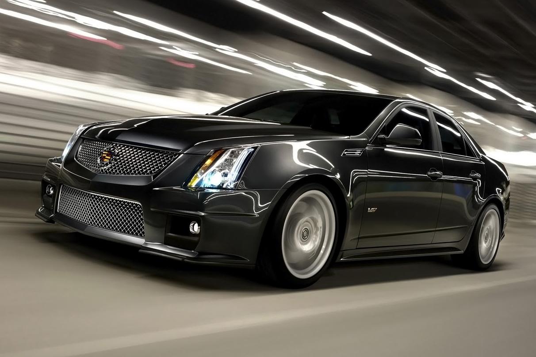 xe sports sedan Cadillac CTS-V