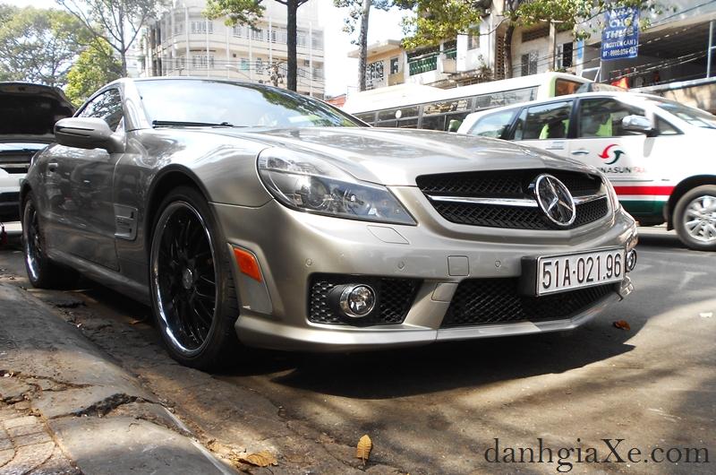 Độ xe ô tô - Mercedes SL55