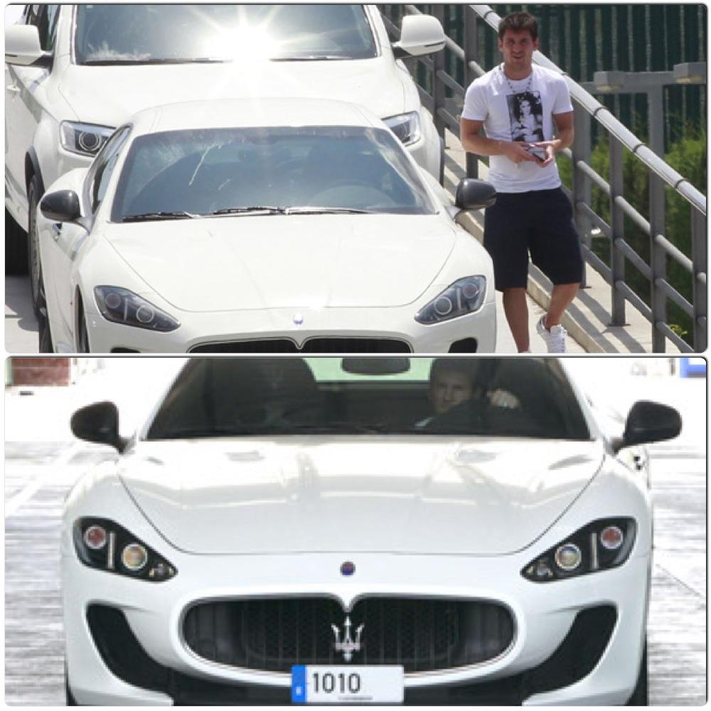 Bộ Sưu Tập Siêu Xe Của Ronaldo Vs Messi