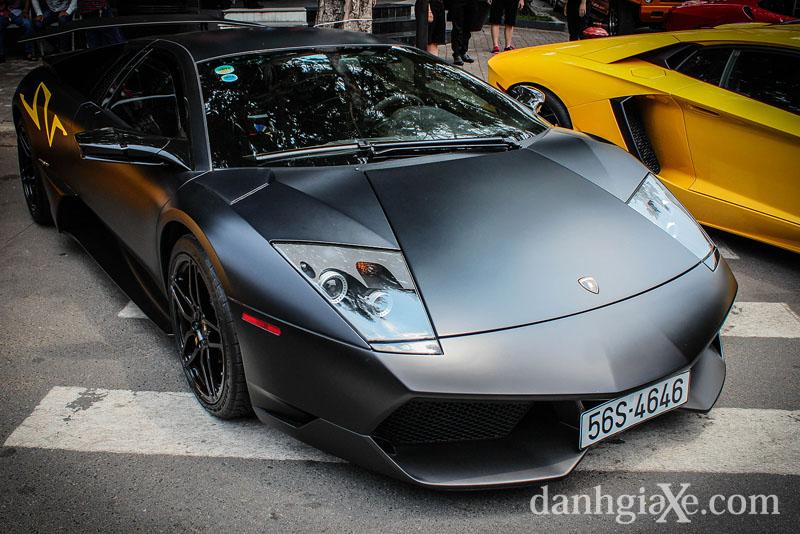 Dàn siêu xe ô tô khủng tụ họp ở Sài Gòn - Lamborghini Mucrielago