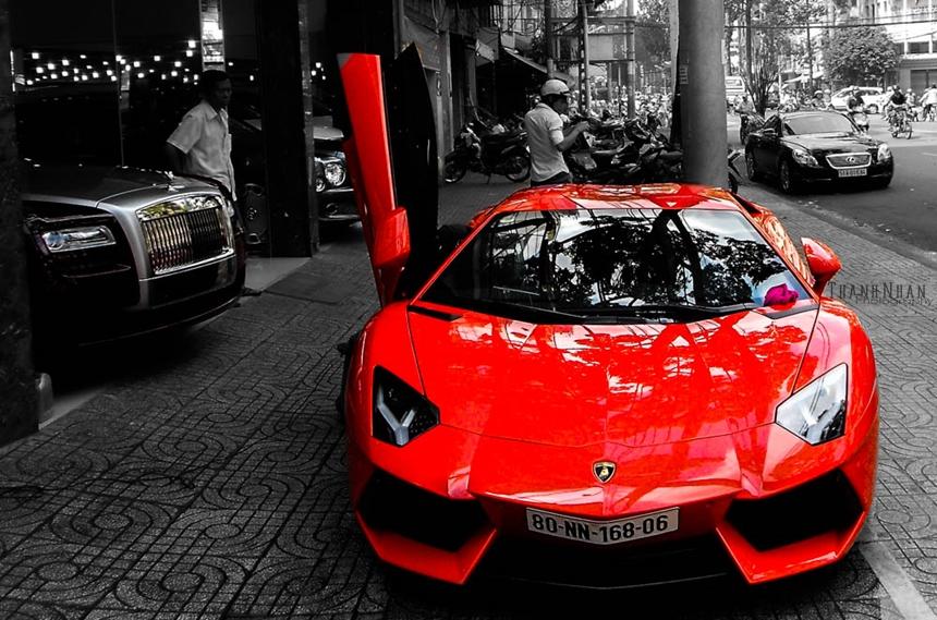 Lamborghini Aventador là mẫu xe được giới mộ điệu siêu xe Việt Nam mong chờ nhất