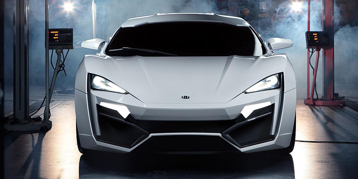 Siêu xe đắt nhất thế giới - Lykan Hypersports