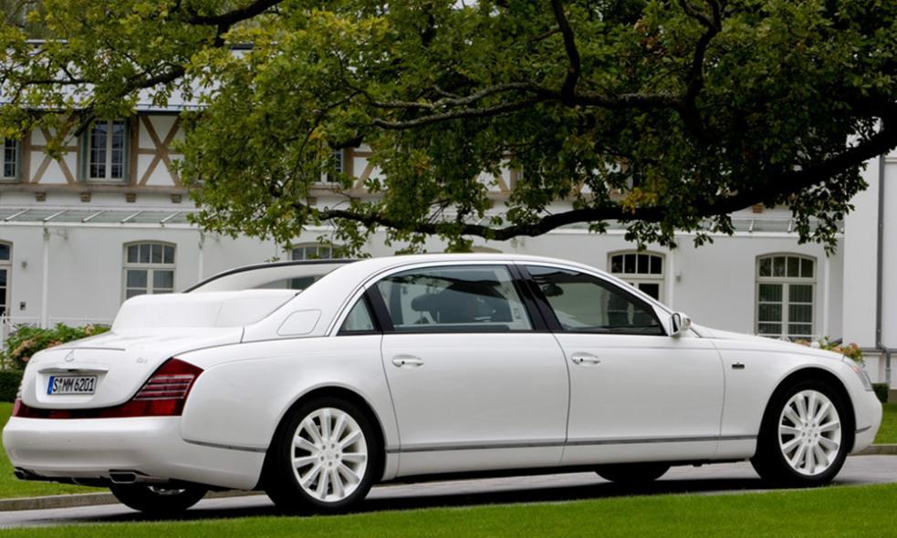 Siêu xe đắt nhất thế giới - Maybach Landaulet