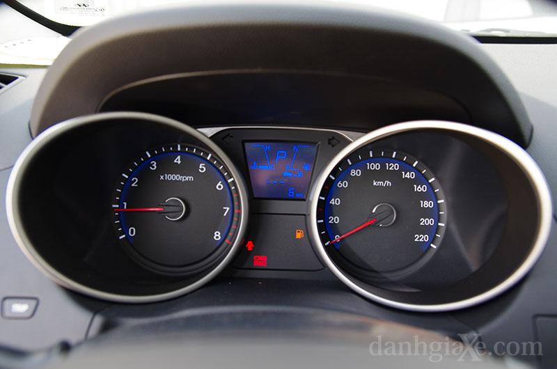Bảng đồng hồ lái Hyundai Tucson 2012