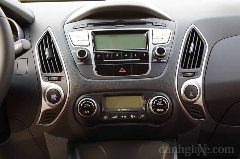 Hệ thống nghe nhìn Hyundai Tucson 2012