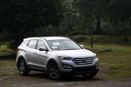 Hyundai SantaFe 2013 - Thay đổi diện mạo