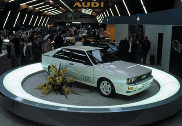 Hệ thống dẫn động bốn bánh Quattro của Audi