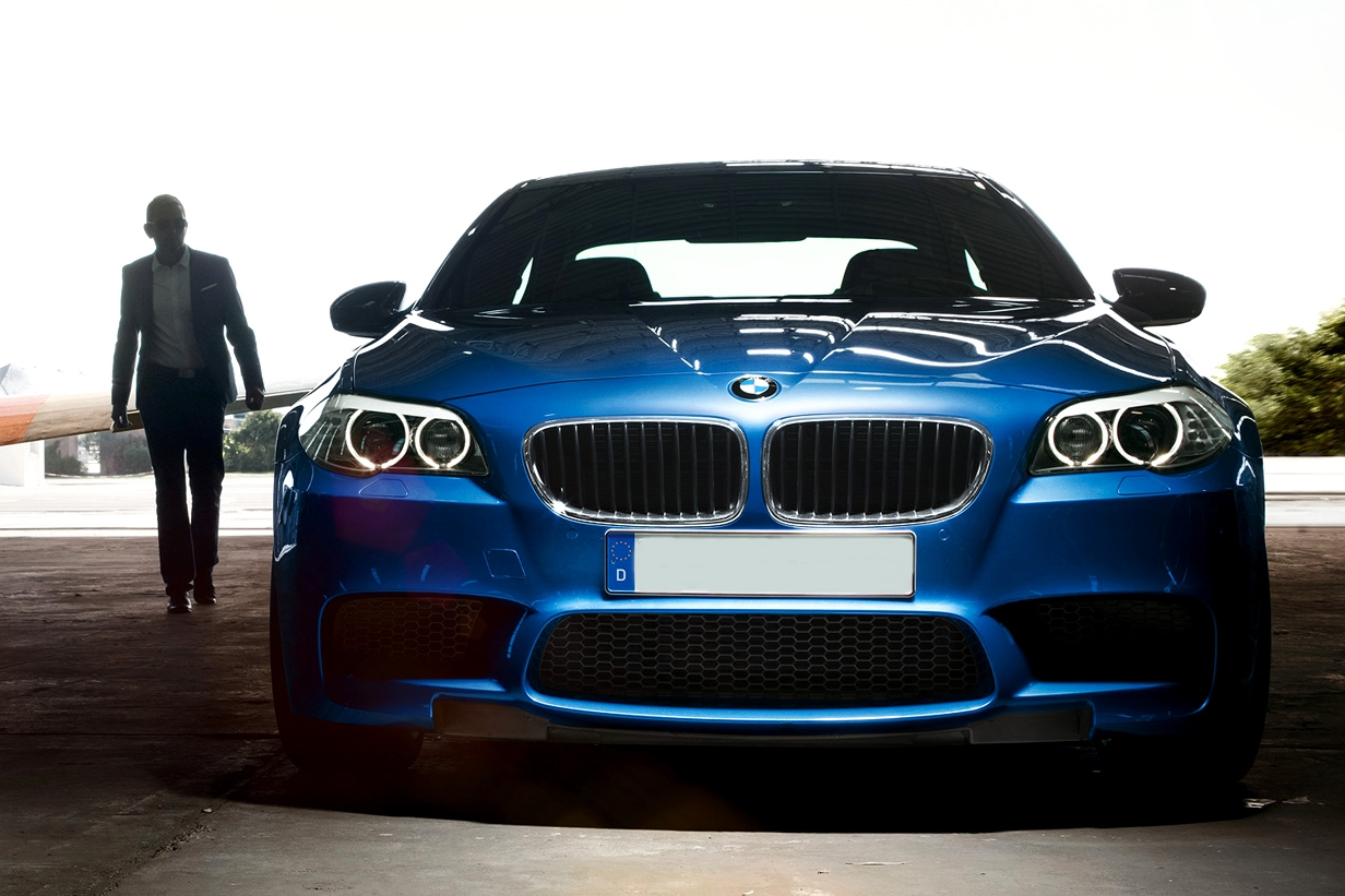 xe sports sedan BMW M5 / M6 Gran Coupe