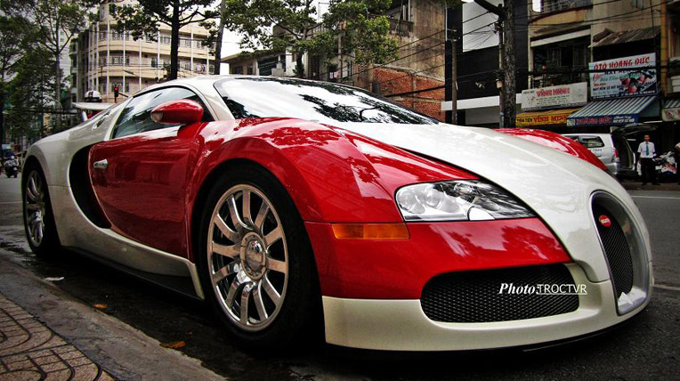 Bugatti Veyron là một trong những siêu xe Việt Nam thuộc hàng khủng nhất