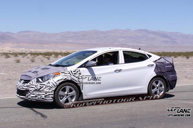 Lộ hình ảnh Hyundai Elantra 2014