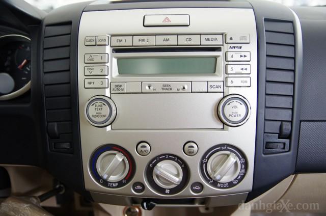 Hệ thống nghe nhìn ford everest 2012