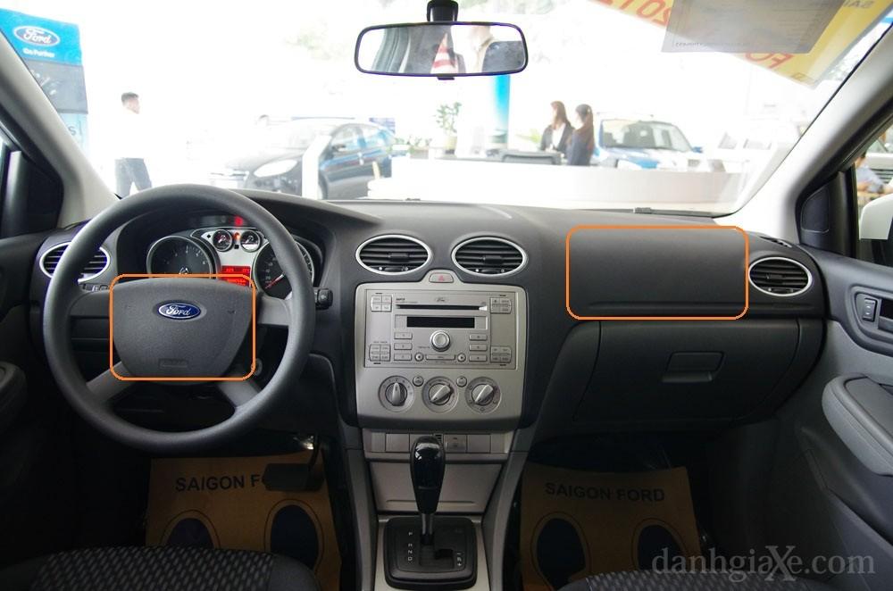 Túi khí  an toàn trên ford focus 2012
