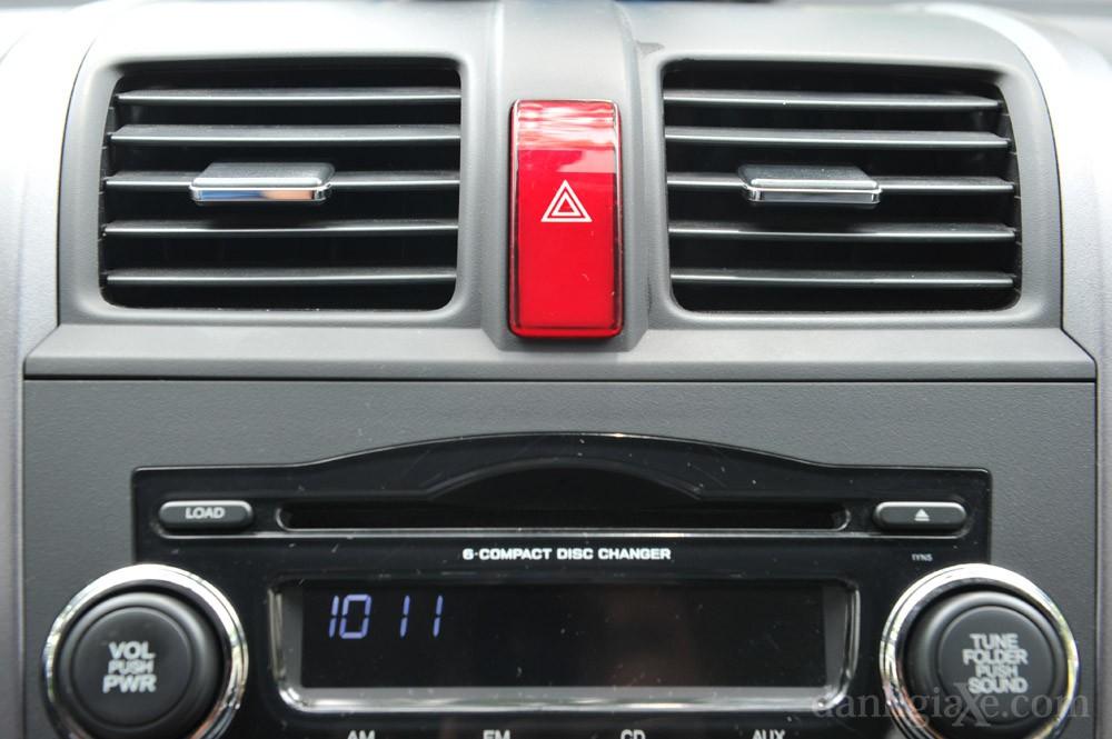 Điều hòa trên xe Honda CR-V 2008