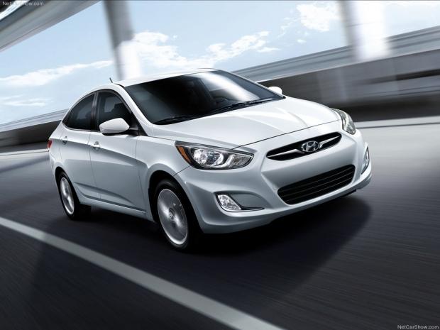 xe 5 chỗ giá rẻ - Hyundai Accent