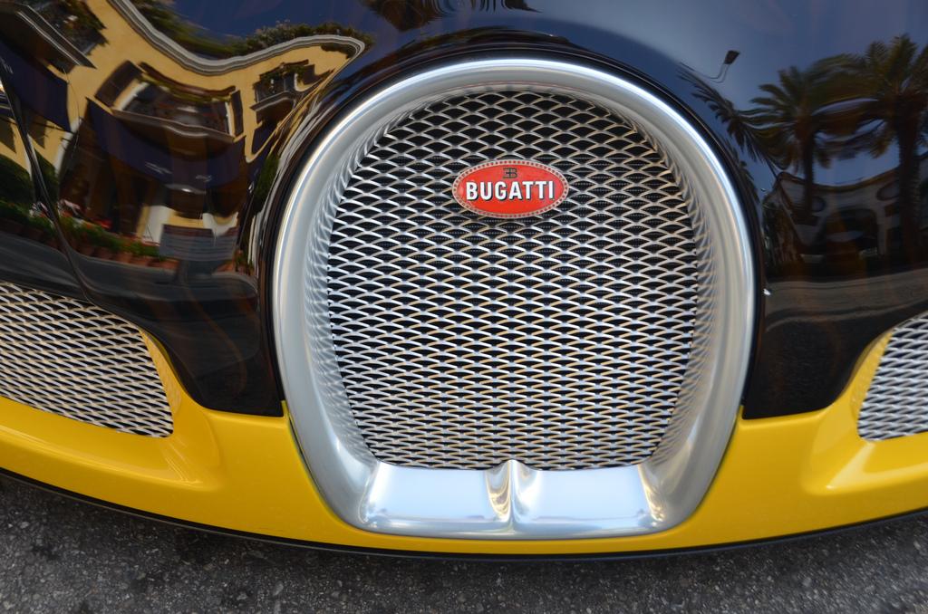 Lưới tản nhiệt ô tô Bugatti