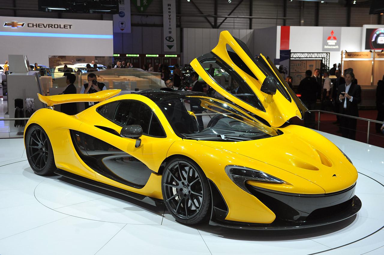Siêu xe hybrid Mclaren P1